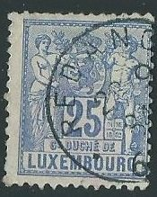 30 Late 19th Century To Early 20th Century Used Stamps of Luxembourg