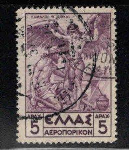 Greece Scott C24 Used  Daedalus Icarus Flight tamp