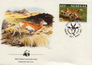 Senegal, First Day Cover, Animals