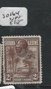 SIERRA  LEONE (PP3105B)  KGV  2/-   SG 164   VFU