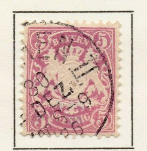 Bayern Bavaria 1881 Early Issue Fine Used 5pf. NW-120719