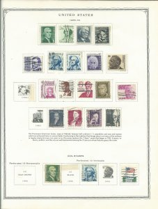 Scott Minuteman Stamp Album For United States Stamps With Stamps