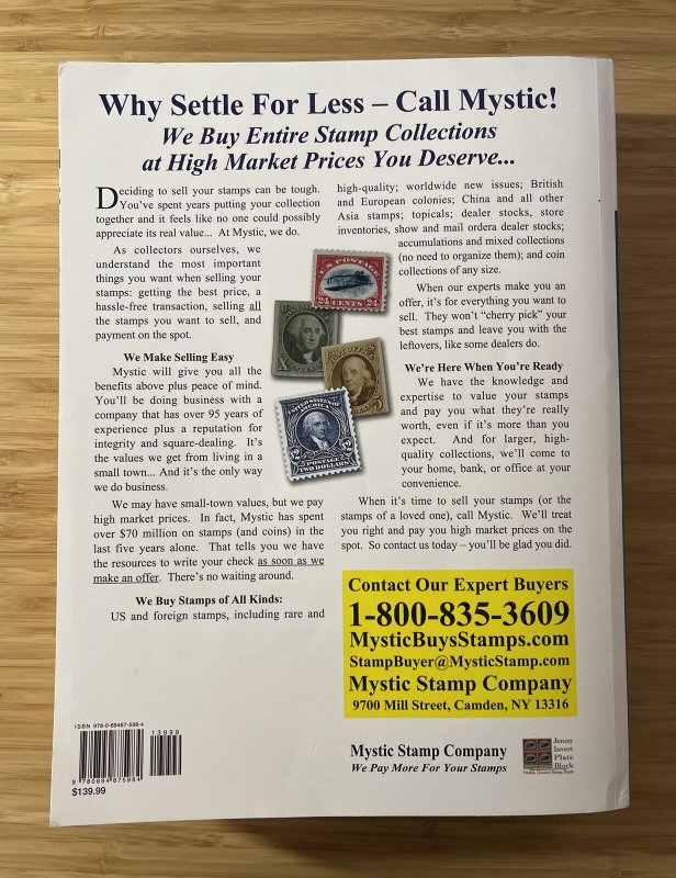 SCOTT Specialized United States US Postage Stamp Catalogue-2021