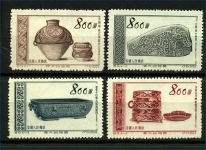 China 1953 and 1954 Mother Country 4th and 5th Issues (8) Mint Set of Stamps