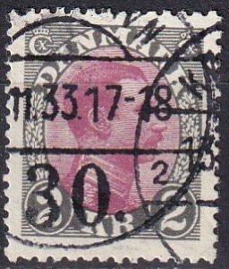 Denmark #129 F-VF Used   CV $15.00 (Z1423)