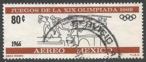 MEXICO C318 VFU OLYMPICS X325-7