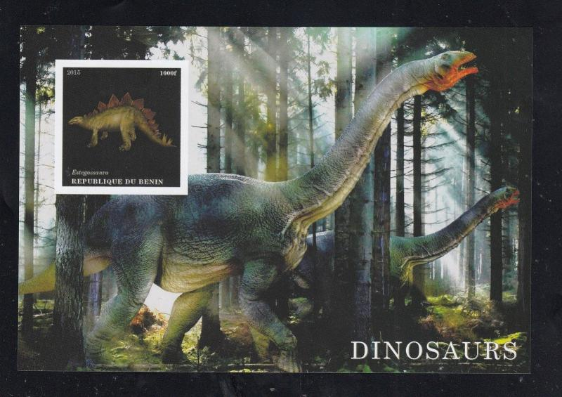 10x Animals Nature Prehistoric Dinosaurs imperf Private Local issue PL25 not MNH