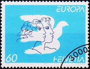 Switzerland. 1995 60c. S.G.1305  Fine Used