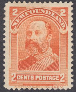 Newfoundland - #81 King Edward VII - MH