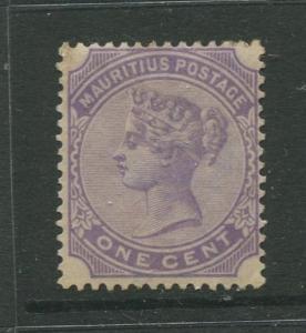 Mauritius #68 MNG 1893  Single 1c Stamp