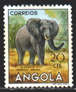 Angola. 1952. 370 from the series. Elephant, fauna. MLH.