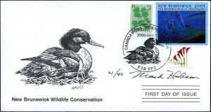 2005 New Brunswick Wildlife Merganser by Mark Hobson