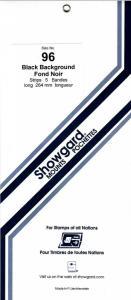 SHOWGARD BLACK MOUNTS 264/96 (5) RETAIL PRICE $11.95