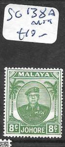 MALAYA JOHORE (P2301B)  8C SG 138A  MOG
