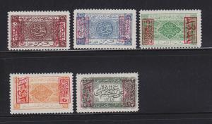 Saudi Arabia King Ali L169-L172, L174 MHR (A)
