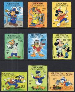 Grenada Grenadines 350-358 Disney's MNH VF