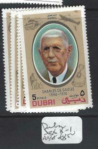 UNITED ARAB EMIRATES   (P1404B) DE GAULLE   SG  388-1      MNH