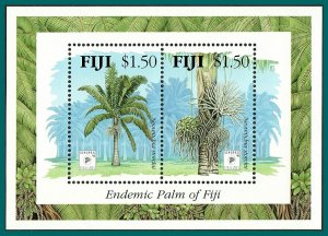 Fiji 1994 Endemic Palm, Singpex MS, MNH  #712,SGMS899
