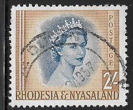 Rhodesia & Nyasaland 151 Used - Elizabeth II