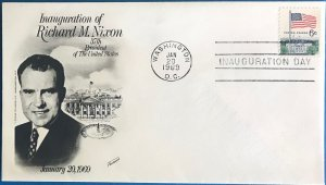 Fleetwood Inauguration Day 1969 Richard M. Nixon Our 37th President