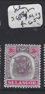 MALAYA SELANGOR (P1412B) TIGER  3C  SG 54  MOG