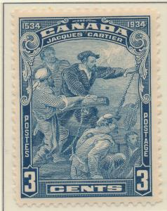 Canada Stamp Scott #208, Mint Hinged - Free U.S. Shipping, Free Worldwide Shi...