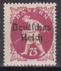 Bavaria #264 MNH F-VF (ST400)