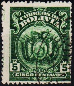 Bolivia. 1919 5c S.G.151 Fine Used