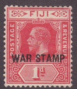 Fiji MR2 War Tax Stamp 1916