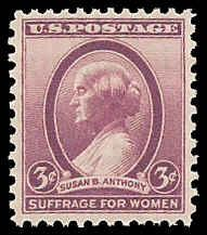 PCBstamps     US # 784 3c Suffrage for Women, MNH, (5)