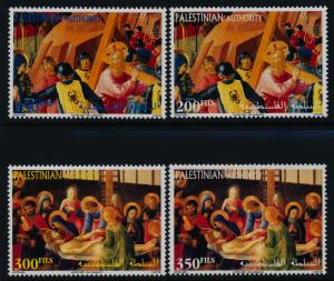 Palestinian Authority 140-3 MNH Easter, Art