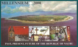 Nauru 2000 New Millennium, MS MNH 476a,SGMS509