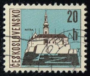 Czechoslovakia #1347 Nitra; CTO (0.25)