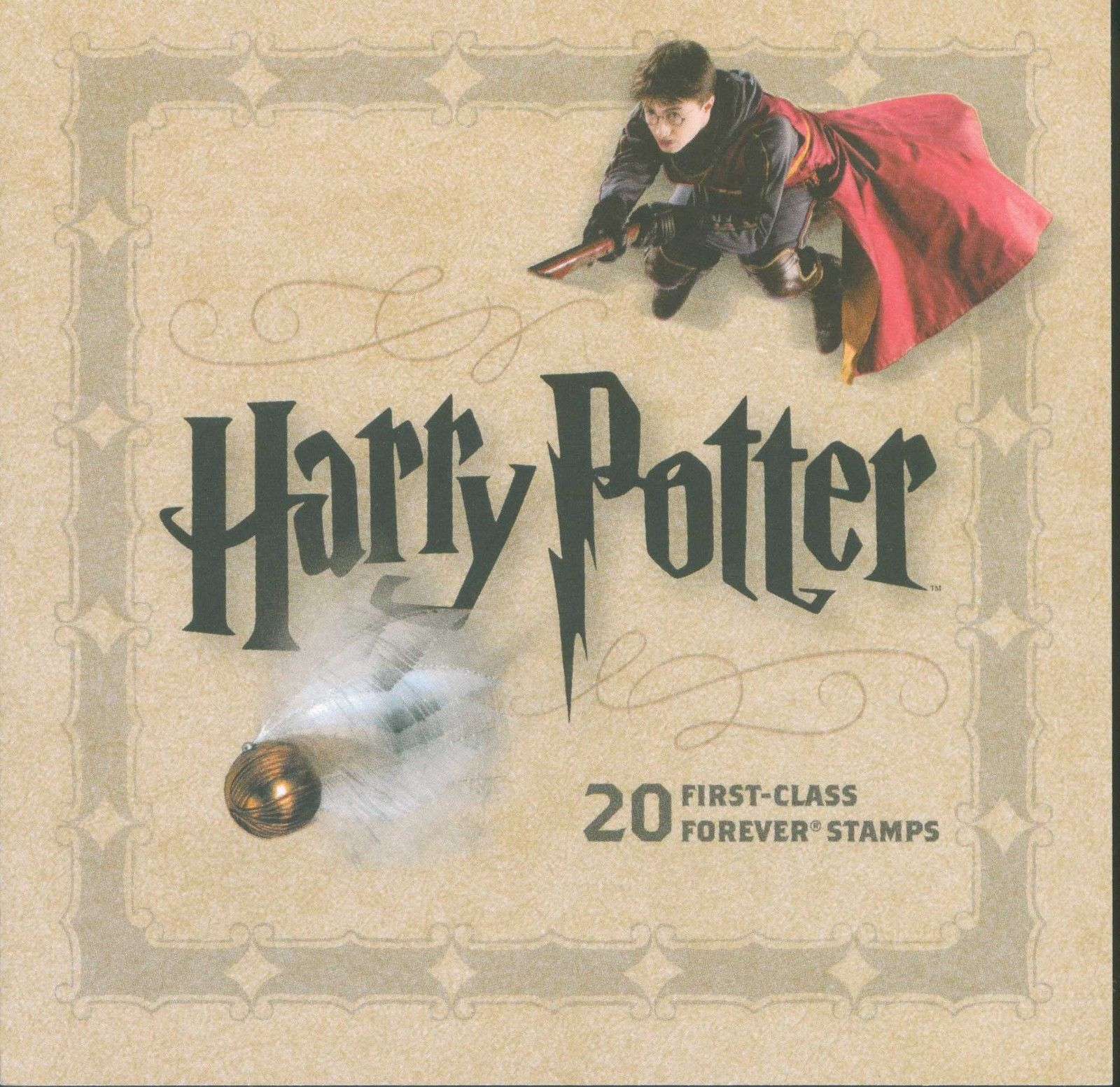 Lot Of 20 U S Mnh Harry Potter Forever Stamps Scott