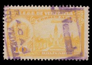 VENEZUELA 1947. SCOTT # C255. USED. SCV: $4.75
