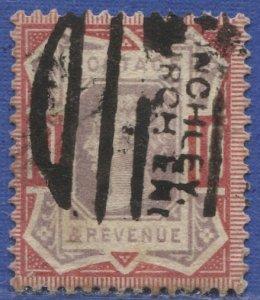 GB 1887  Sc 121  10p rose & lilac Used, F-VF,  SG 210