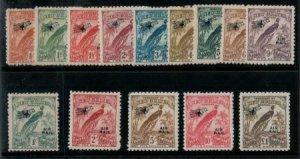 New Guinea 1931 SC C14-C27 Mint Set