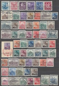 COLLECTION LOT # 5370 BOHEMIA & MORAVIA 59 STAMPS 1939+ CLEARANCE