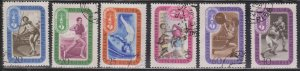 RUSSIA - Scott # 1968-75 Used - Various Sports