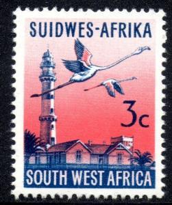SWA - 1973 3c Flamingo phosphorised paper MNH** SG 240