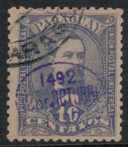 Paraguay #31  CV $5.00