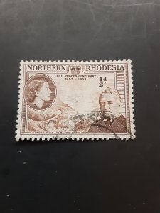 *Northern Rhodesia #54                  Used