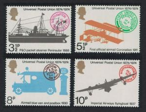 Great Britain Centenary of Universal Postal Union 4v SG#954-957