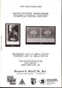 United States, Worldwide Stamps & Postal History, Schiff 197
