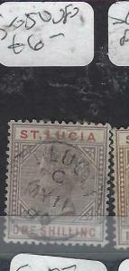 ST LUCIA  (PP2705B)  QV    1/    SG  50      VFU