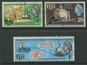 STAMP STATION PERTH Fiji #233-235 General Issue -1967 - FU CV$0.80