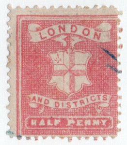 (I.B) Cinderella Collection : Circular Delivery Company (London Districts ½d)
