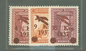 Turkey C6-C8  Mint VF HR's