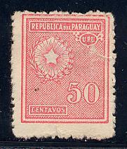 Paraguay Scott # 281, used