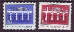 J24577 JLstamps 1984 germany set mnh #1415-6 europa